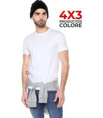 camiseta interior blanca colore
