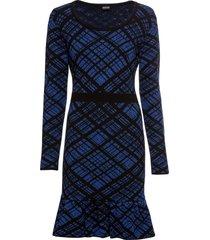 abito in maglia a quadri (nero) - bodyflirt