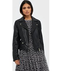 river island leather geller biker jacket skinnjackor