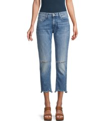 rag & bone women's dre low-rise slim boyfriend jeans - mendecino - size 31 (10)