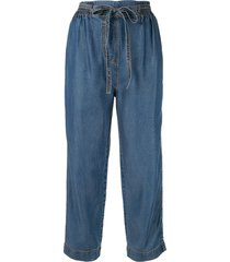 karen walker studland beach trousers - blue