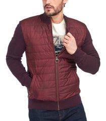 barbour men's carn baffle zip-up coat