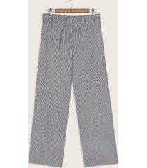 pantalón cintura paperbag con anudado estampado-10