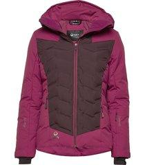 tieva w jacket outerwear sport jackets paars halti