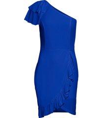 abito con volant (blu) - bodyflirt boutique