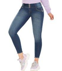 jeans colombiano jogger push up venus azul tyt jeans