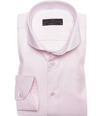 john miller overhemd roze two ply tailored fit