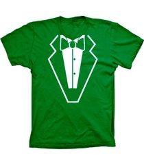 camiseta lu geek manga curta smoking verde - kanui