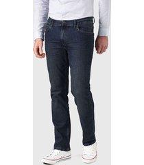 jeans lee brooklyn azul - calce ajustado