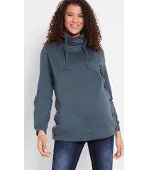 zwangerschapssweater / voedingssweater van biologisch katoen