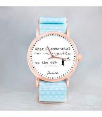 - 12% zegarek z cytatem z małego księcia