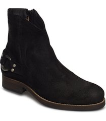 imperial shoes boots ankle boots ankle boots flat heel svart sneaky steve