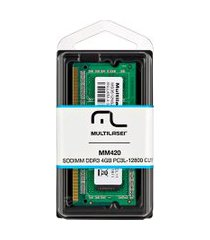 memória para notebook ddr3 4gb pc3l-12800 mm420 multilaser