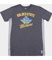camiseta nba golden state warriors side cut masculina