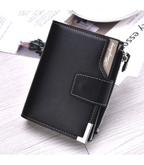 cartera para hombre- billetera informal para hombres-negro