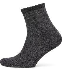 pcsebby glitter long 1 pack socks noos lingerie socks regular socks svart pieces