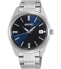 seiko men's essentials stainless steel bracelet watch 40.2mm
