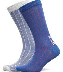 levis regular cut vertical birdseye underwear socks regular socks blå levi´s