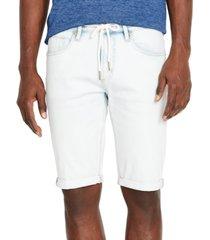 buffalo david bitton men's parker-x stretch denim shorts