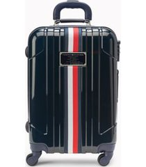 "tommy hilfiger women's 21"" spinner suitcase navy -"