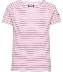 docksides sail tee t-shirts & tops short-sleeved rosa sebago