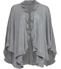 poncho con cachemire (grigio) - bpc bonprix collection