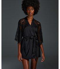 hunkemöller kimono jennifer svart