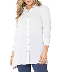 blusa maribel blanco para mujer croydon