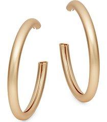 basic program goldtone hoop earrings