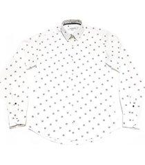 camisa blanca prototype springhill