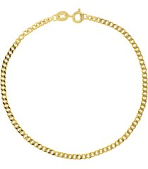 bony levy 14k gold curb chain bracelet, size 7 in 14k yellow gold at nordstrom