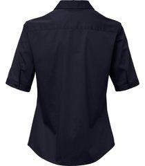 blouse met korte mouwen van day.like blauw