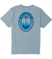 billabong men's palmer logo graphic t-shirt