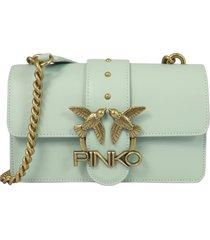 pinko love mini icon simply 9 cl hobo bag