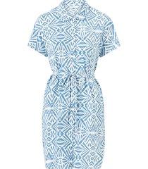 klänning onlnova lux s/s shirt dress aop wvn 7