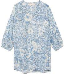 faraglioni tunic dress in bleu
