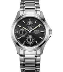 reloj casio mtp-1246d-1a-gris