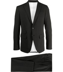 dsquared2 single-breasted suit set - grey