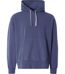 nigel cabourn embroidered arrow hoodie | black navy |ncj-55 nvy