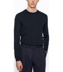 boss men's slim-fit jersey sweater