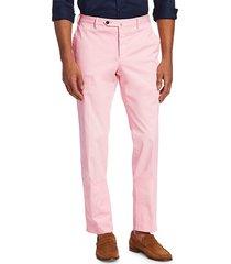 pt01 men's slim-fit flat front trousers - soft pink - size 54 (38)