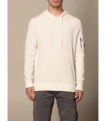c.p. company sweater hoodie c.p. company in cotton