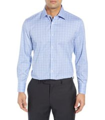 men's english laundry regular fit plaid dress shirt