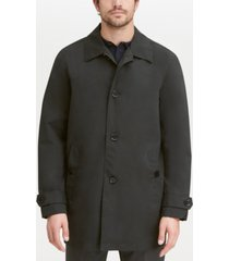 cole haan men's button-front water resistant rain coat