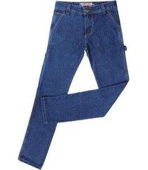 calça jeans carpinteira rodeo western masculina