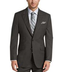 joseph abboud gray multistripe modern fit suit