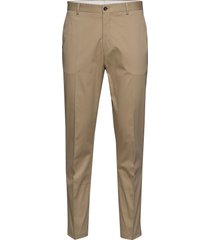 slhslimtapered-fole crockery trs b chino broek beige selected homme