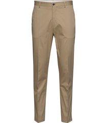 slhslimtapered-fole crockery trs b chino broek beige selected homme