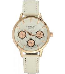 reloj blanco amphora w075