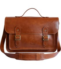bolsa line store leather satchel grande couro whisky rústico.